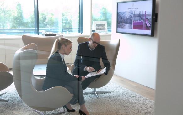 Modern ausgestattete Büros