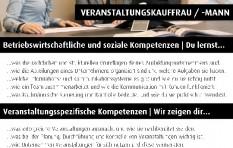 Ausbildungsinfos Veranstaltungskaufmann/-frau
