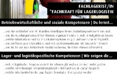 Ausbildungsinfos Fachlagerist/in