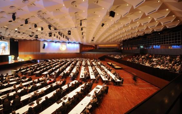 Kongress in der Stadthalle Braunschweig, Großer Saal