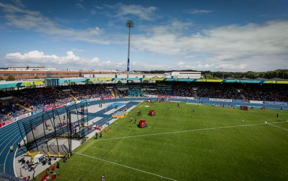 Team-Europameisterschaften der Leichtathletik, Eintracht-Stadion