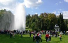 Wasserspiele im Bergpark Wilhelmshöhe