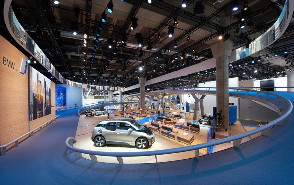 BMW Messestand, IAA Frankfurt 2013, Photo © A. Holmes