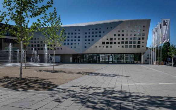 Kultur- und Kongresshalle | Außenansicht