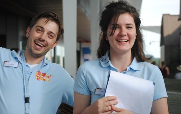 Team JoNaLu - Maksim und Paula