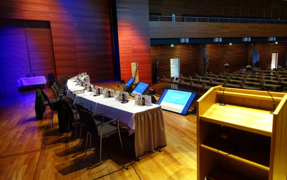 Tagungstechnik Weimarhalle