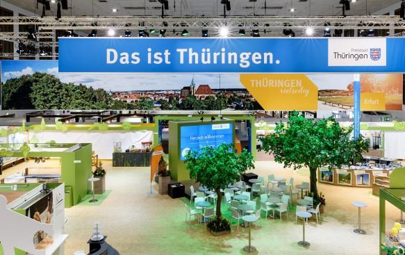 IGW Messestand Thüringen