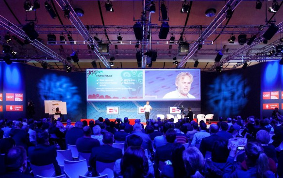 CEBIT Global Conferences Forum Messe